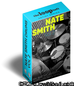 The Loop Loft Nate Smith Drum Loops Vol 2 WAV MiDi