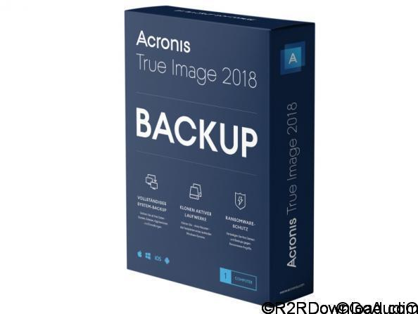 Acronis True Image 2018 Free Download