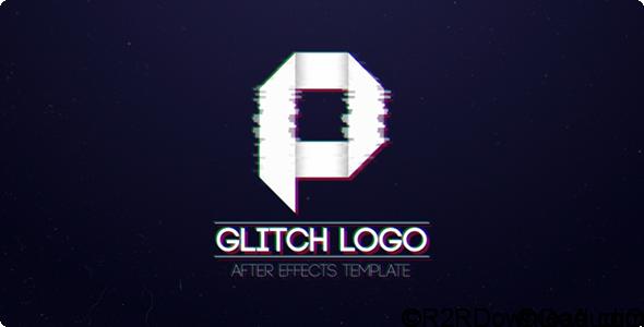 VIDEOHIVE GLITCH LOGO Free Download