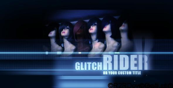 VIDEOHIVE RIDE ON GLITCH – TITLES FREE DOWNLOAD