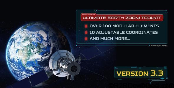 VIDEOHIVE ULTIMATE EARTH ZOOM TOOLKIT V3.3 Free Download