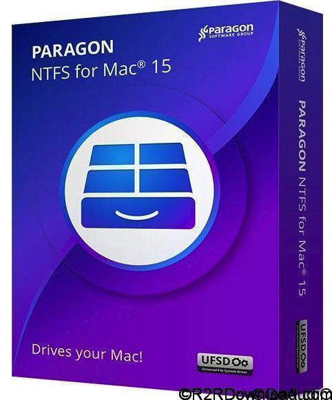 Paragon NTFS for Mac 15.1.70 Multilingual (Mac OS X)