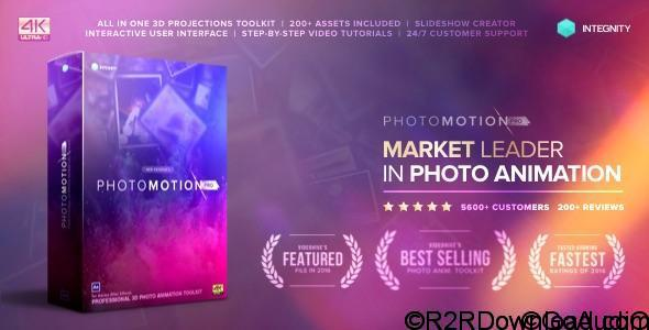 VideoHive Photo Motion Pro – Professional 3D Photo Animator Free Download