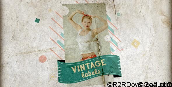 Videohive Vintage Labels 3 files 6032600 Free Download