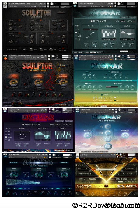 Gothic Instruments KONTAKT BUNDLE