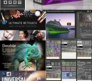Photoshop Panels & Plugins Collection (Updated 08.04.2018) Free Download