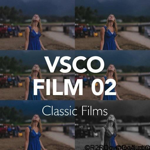 VSCO Film LUTs 02 for After Effects, Premiere, PS, Resolve and FCPX (WIN-OSX)