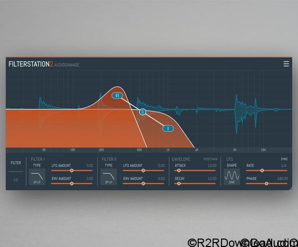 Audio Damage AD043 Filterstation v2.1.0 [WiN-OSX]