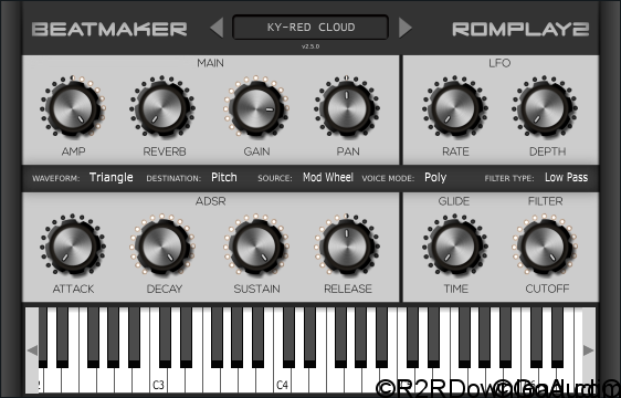 BeatMaker Romplay 2.5.0 VST AU (WIN-OSX)