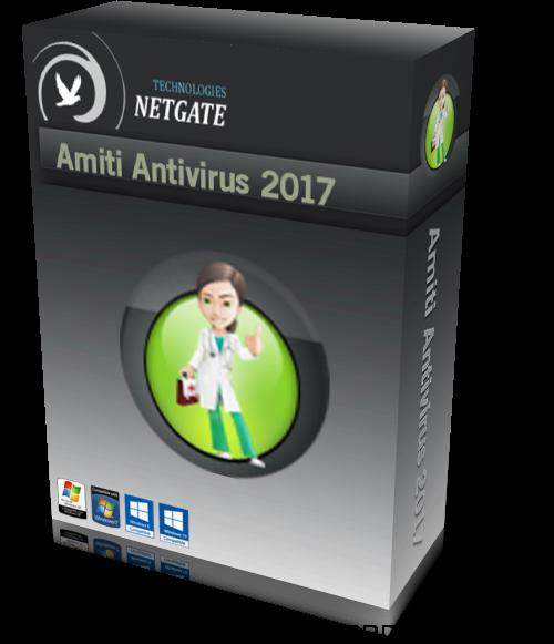 NETGATE Amiti Antivirus 2017 24.0.650 Free Download