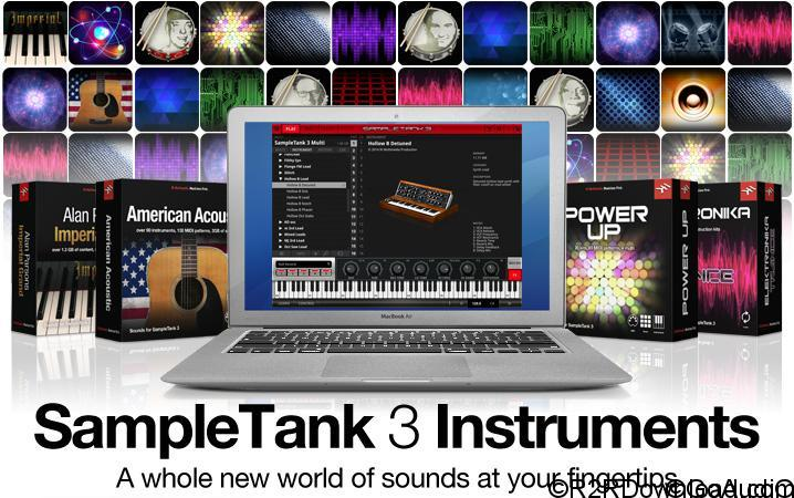 SampleTank 3 instrument collections (WIN-OSX)
