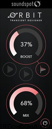 SoundSpot Orbit Transient Designer VST VST3 AU AAX v1.0.1 (WIN-OSX)