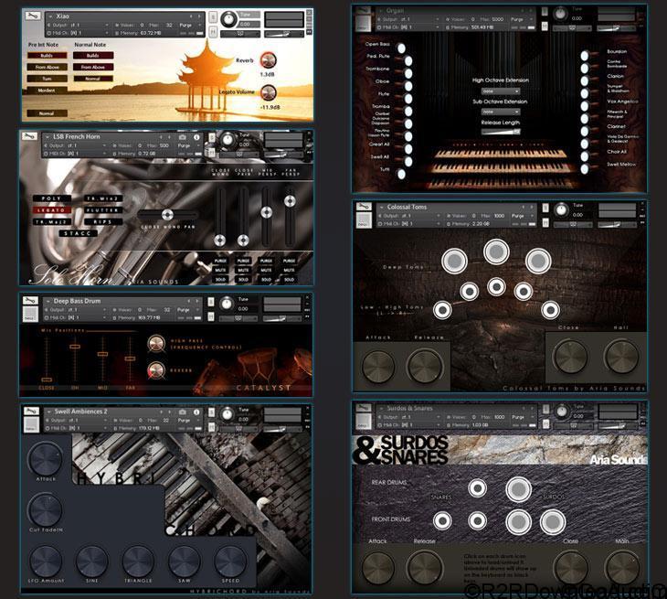 Aria Instruments Bundle (EXCLUSIVE)