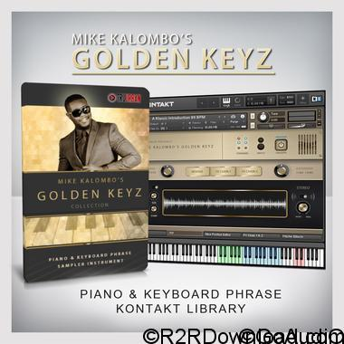MIKE KALOMBO'S GOLDEN KEYZ WAV KONTAKT (WIN-OSX)