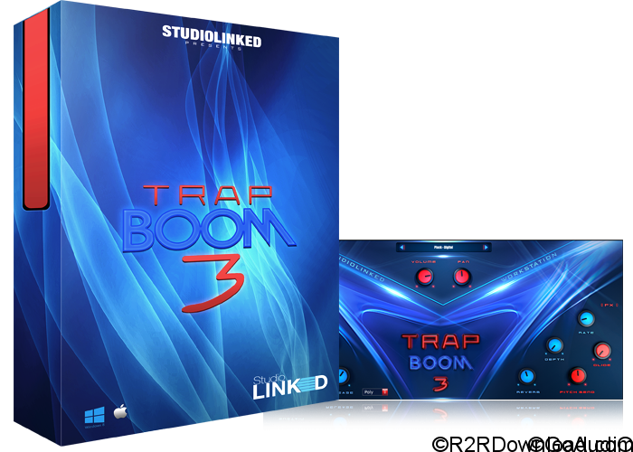 Studiolinked Trap Boom 3 VST AU (WIN-OSX)