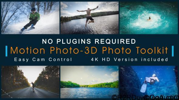 VIDEOHIVE MOTION PHOTO-3D PHOTO TOOLKIT Free Download