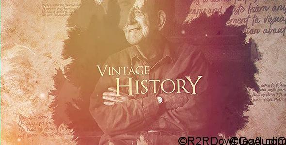 VIDEOHIVE VINTAGE HISTORY Free Download