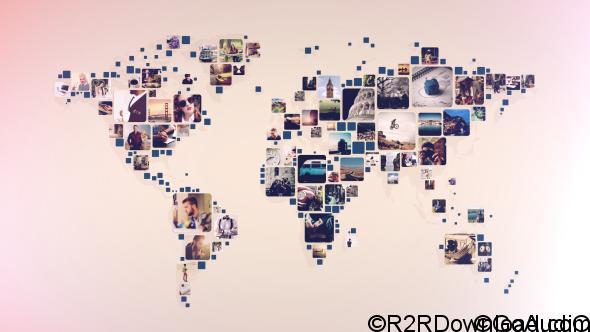 VIDEOHIVE WORLD PHOTOS SLIDESHOW Free Download