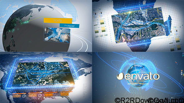 Videohive Digital Earth Motion Graphics 18998389 Free Download