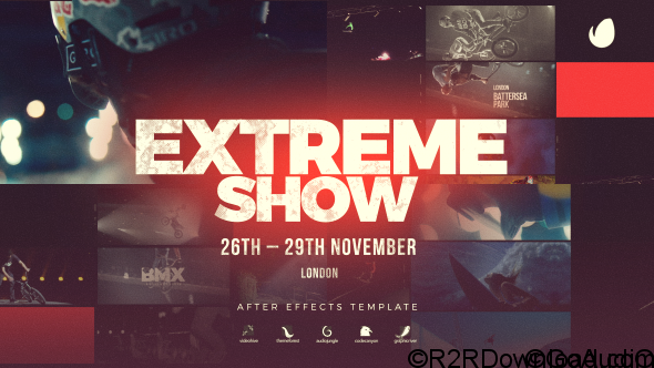 Videohive Extreme Show Sport Event Promo 20706485 Free Download