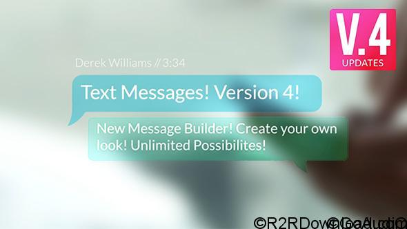 Videohive Text Messages 9450049 Free Download