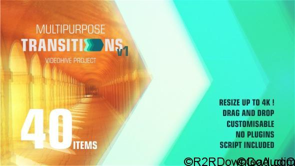 Videohive Transitions 20737863 Free Download