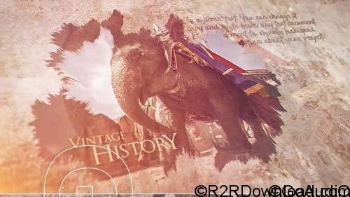 Vintage History After Effects 57577 Free Download