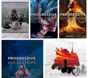 Laniakea Sounds Progressive Vocal Chops Vol 1-5