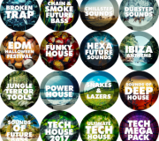 Big EDM loops, presets, patches, impulses, MIDI, SF, Akai BUNDLE 2018