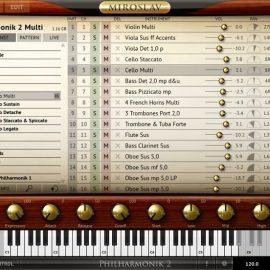 IK Multimedia Miroslav Philharmonik 2 Sound Content Update1 [WIN-OSX]