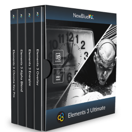 NewBlue Elements 3 Ultimate v3.0 for After Effects & Premiere Pro