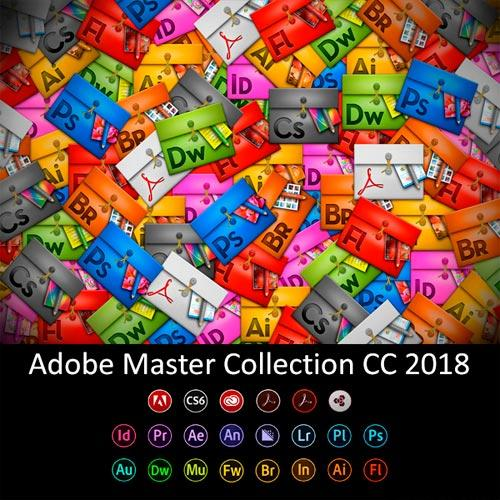 Adobe CC Collection 2018 (Updated 08.04.2018)