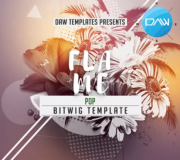logic templates Flame Bitwig DAW Template