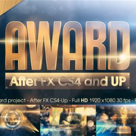Videohive Golden Award 14724810 Free Download