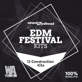 WA Production – Redhead Roman EDM Festival Kits