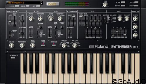 Roland SH-2 PLUG-OUT v1.0.3 free download