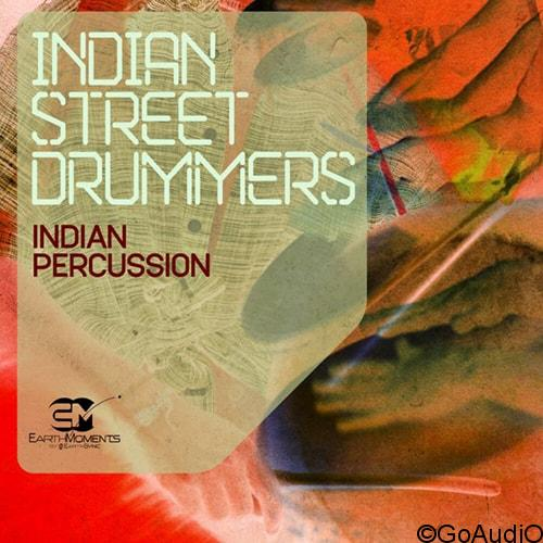 Earth Moments Indian Street Drummers WAV