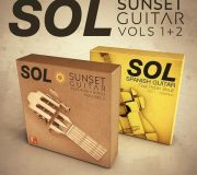 F9-Audio SOL Sunset Guitar Vols 1+2 Bundle MULTiFORMAT