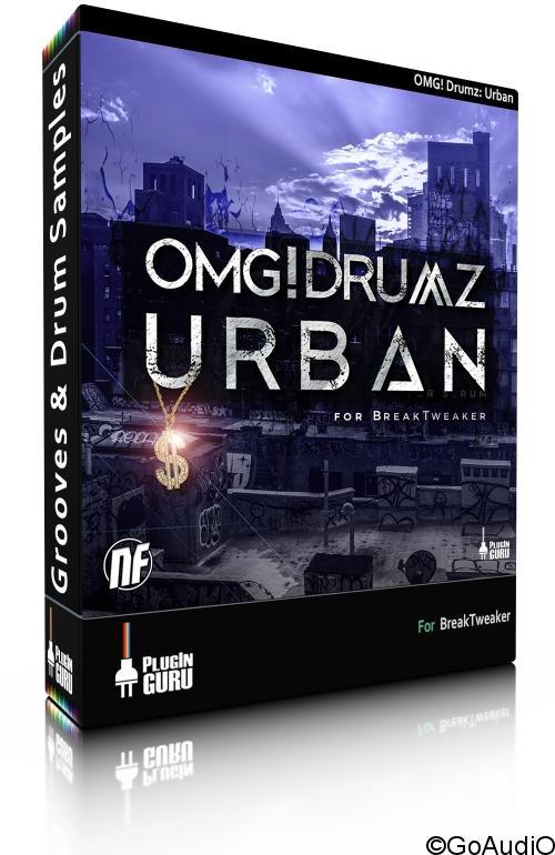 Pluginguru OMG! Drumz Urban for BreakTweaker free download