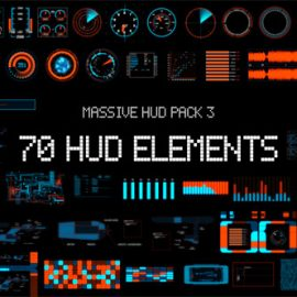 Videohive Massive HUD Pack 3 8070978 Free Download