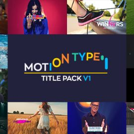 Videohive Motion Type Titles Pack 20825273 Free Download