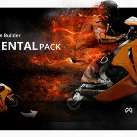 Videohive Particle Builder Elemental Pack Fire Sand Smoke Sparkle Particular Presets 14664200