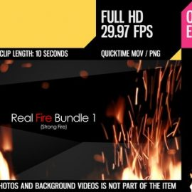 Videohive Real Fire Bundle 1 6727756 Free Download