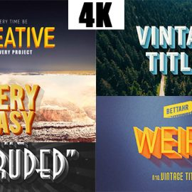 Videohive Titles & Lower Thirds 21324355 Free Download