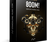8OOM – 808 SERUM HYBRID PRESETS by 7 SKIES