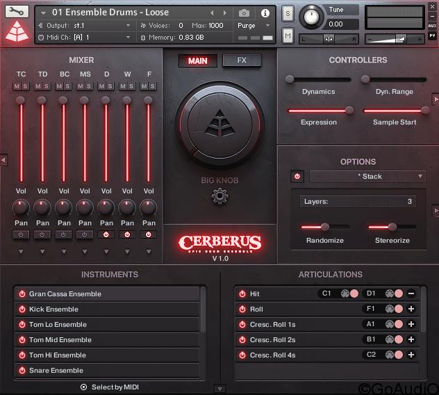 Audio imperia CERBERUS EPIC & CINEMATIC DRUMS KONTAKT download