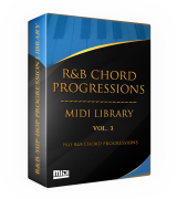 Tru-urban The R&B Chord Progressions MIDI Library Vol. 3