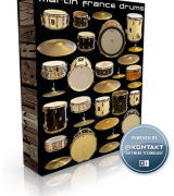Rattly & Raw Martin France Drums KONTAKT