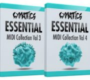 Cymatics Essential MIDI Collection Bundle (Vol 1-6)