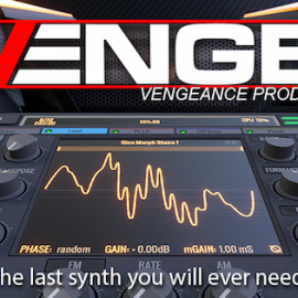 Vengeance Producer Suite Avenger v1.2.2 Mac OS X [Factory+15 Library]